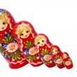 Babushka family — Stock Photo