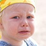 Angry tears — Stock Photo