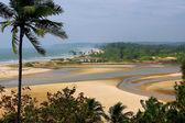 Paradise Beach on the south of Maharashtra state — Stock Photo