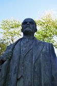 レーニンの銅像 — ストック写真