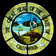 Great Seal of the State of California — Stock Photo