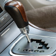 Car Gearshift — Stock Photo