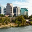 Sacramento Skyline — Stock Photo