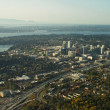 Stock Photo: Bellevue, W- Aerial