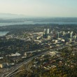 Bellevue, WA - Aerial - Stock Photo