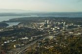 Bellevue, WA - Aerial — Stock Photo