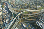 Interstate Triangle - Aerial — Stock Photo
