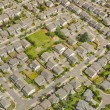 Stock Photo: Aerial View of Neighborhood