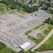 Stock Photo: Substation - Aerial View
