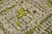 Aerial View of Neighborhood — Stock Photo