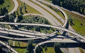 Weaving Interstate Junction — Stock Photo