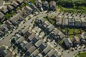 Aerial View - Suburban Neighborhood — Stock Photo