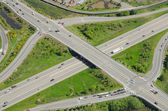 Highway Overpass and Intersection — Stock Photo