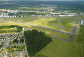 Recreational Airport in Rural Area — Stock Photo