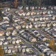 Stock Photo: Sunshine on Small SuburbDevelopment