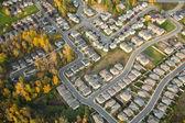 Hilly Neighborhood in Autumn — Stock Photo