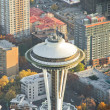 Space Needle Close Up View — Stock Photo