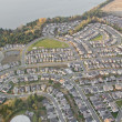 Stock Photo: Weaving Roads through SuburbDevelopment
