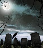 公墓 — 图库照片