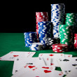 Poker game — Stockfoto