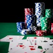 Poker game — Foto Stock