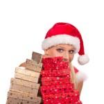 Santa girl — Stock Photo #7591557