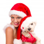 Santa girl — Stock Photo #7591566