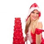 Santa girl — Stock Photo #7591588