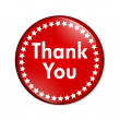 Stock Photo: Thank you button