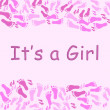 Stock Photo: It's a Girl