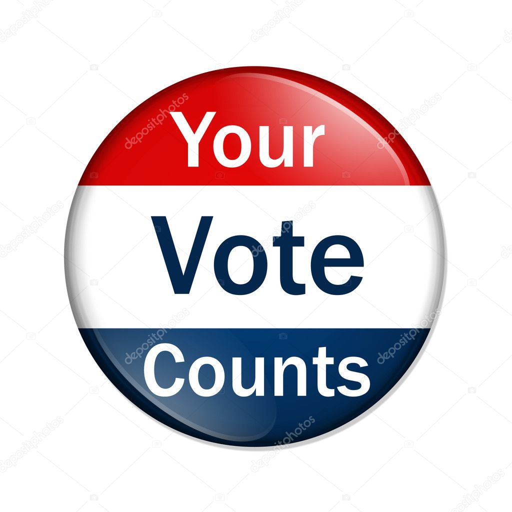 Your Vote Counts butto...
