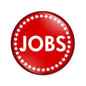 Jobs button — Stock Photo