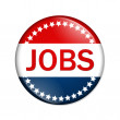 Jobs button — Stock Photo