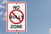 No Bully Zone — Stock Photo