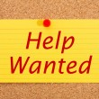 Help Wanted — Stock Photo #7065600