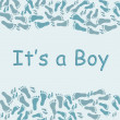 It's a Boy — Stock Photo