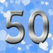 50th Anniversary — Stock Photo