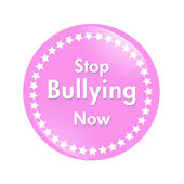 Stop Bullying Now button — Stock Photo