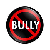 No Bully button — Stock Photo