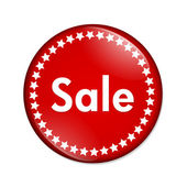 Sale button — Stock Photo