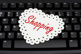 Internet Shopping — Stock Photo
