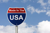 Made in the USA — Stock Photo