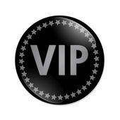 VIP button — Stock Photo