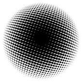 Abstract black ball — Stock Photo