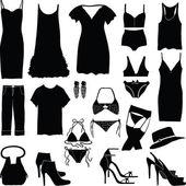 Various womens underwear — Stock Photo