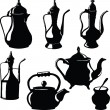 Stock Photo: Cookware Teapots