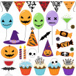 Halloween Party - Stock Vector