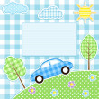 Car background — Stock Vector #7629903