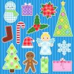 Christmas set — Stock Vector #7629922