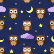 Night owls - Stock Vector
